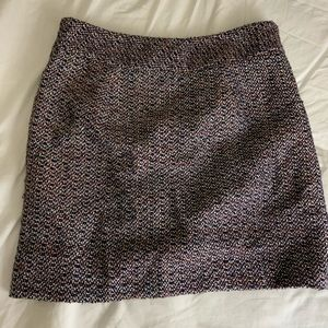 Loft knit pencil skirt